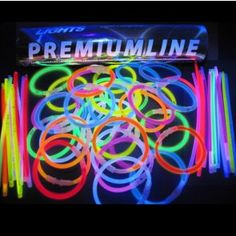 Lichtgevende armbandjes premium - 100 stuks