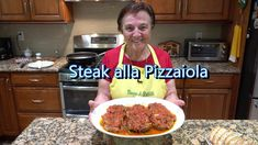 STEAK alla PIZZAIOLA: 3 NY Strip Steaks,or your favorite cut 1 qt Peeled Tomatoes ½ Onion, sliced 8 cloves Garlic, crushed ¼ cup Fresh Basil 1 Tbsp Oregano O. Italian Pastries, Italian Dishes, Italian Recipes, Italian Cooking, Italian Meals, Italian Beef, Irish Recipes, French Pastries, Grandma Cooking
