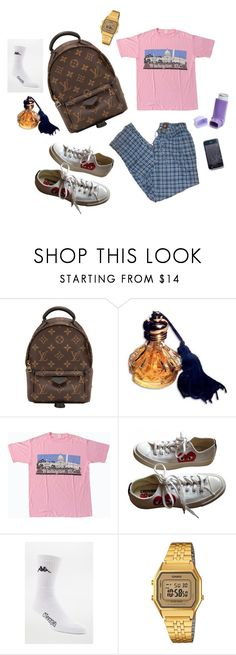 """"""":-D"""" by sannalagesenfenheim on Polyvore featuring Louis Vuitton, Converse, Kappa and Casio"""