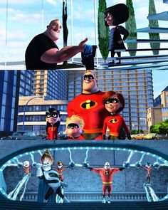High Quality Prints The Incredibles Movie Poster Pixal Studio