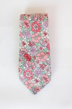 Vintage Liberty of London Neck Tie Floral Print by VintageCommon