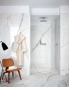 Via My Unfinished Home | Marble Bathroom | Eames | Grasshopper