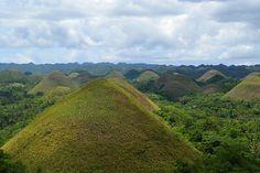 Chocolate Hills of Bohol.