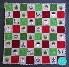 Welcome to the Christmas Granny Afghan Crochet Along! Find details on this CAL here. Find the materials list here. I'm so happy t...