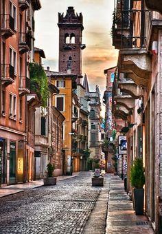 beautiful city of Verona  I'll hopefully be here this time next year
