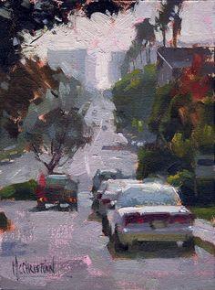 Brand Blvd. by Jennifer McChristian Oil ~ 4.5 x 5