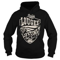 Team LOUGEE Lifetime Member (Dragon) - Last Name, Surname T-Shirt