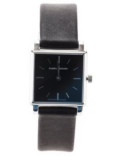 square-shaped watch
