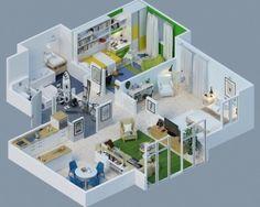 Inilah Gambar Denah Rumah Minimalis 3 Kamar Tidur Paling Keren - Ketika membuat sebuah rumah, diperlukan sebuah konsep yang matang agar rumah tersebut bisa terbentuk sesuai harapan. Salah satu hal yang perlu dilakukan adalah membuat denah rumah agar bisa diketahui dan disesuaikan antara keinginan bentuk nya dengan seberapa luas rumah yang akan dibuat. Biasa nya