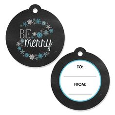 Be Merry - Holiday Party Favor Gift Tags - Set of 20 ^^ Save this wonderfull product : Christmas Gifts
