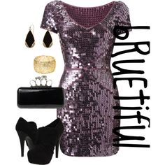 Party Dress, created by rue-dis11 on Polyvore