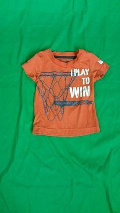 e67d686b4 Boy's t shirt brand New Balance sz 12mo orange short sleeve novelty  #fashion #clothing