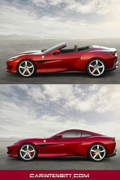 Ferrari Portofino (Which will make anyone that says it sound Italian! Maserati, Bugatti, Lamborghini, Ferrari Car, Porsche, Audi, Bmw, New Sports Cars, Sport Cars