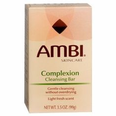 Ambi Skincare Complexion Cleansing Bar 2 Pack 3.5 Oz