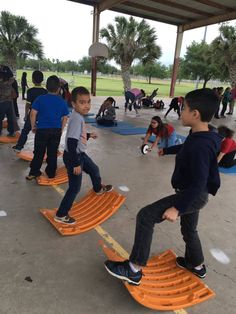 Students in McAllen Independent School District stay active for National PE & Sport Week!