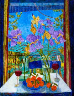 Sue Fitzgerald 2014 | Lunchtime in the Languedoc
