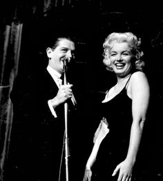 Just Marilyn Monroe | alwaysmarilynmonroe:  Milton Berle and Marilyn in...