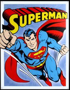 Superman Placa de lata na AllPosters.com.br