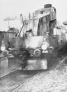 German armored train.1915