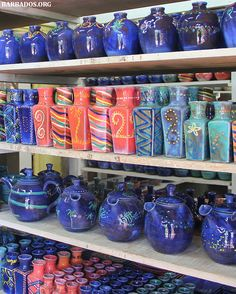 Amazing tropical pottery created in Trip To Barbados, Sandy Beaches, Latin America, Gifts For Friends, Beautiful Things, Travel Inspiration, Caribbean, Stuff To Do, Paradise