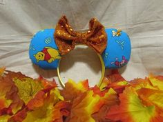 Your place to buy and sell all things handmade Diy Disney Ears, Disney Diy, Mouse Ears Headband, Ear Headbands, Winnie The Pooh Ears, Cruise, My Etsy Shop, Inspired, Unique Jewelry