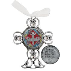 This glitter cross features the most Holy Spirit at the center, just as He should be the center of every young woman's life. A lovely reminder of Confirmation day. Catholic Confirmation, Red Glitter, Women Life, Holy Spirit, Bracelet Watch, Gems, Epoxy, Pewter, Accessories