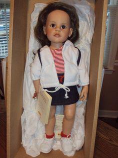 "Limited Edition Steiff Gotz ""Leatrice"" Doll"