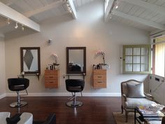 My small salon space! Love it!