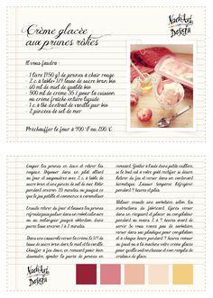 Fiche recette // Crème glacée aux prunes rôties