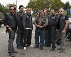 Sons of Anarchy Cast | ... : Galerie : Sons Of Anarchy Saison #6 Promo Cast #11 - Series Addict