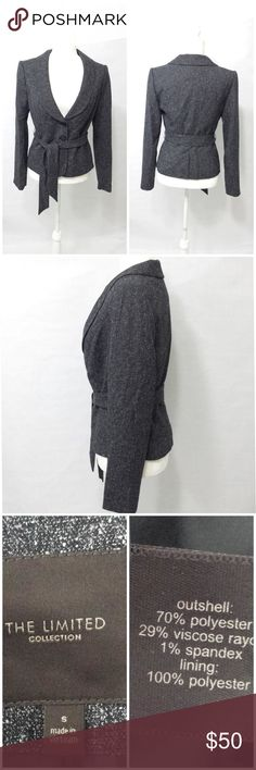 NWT The.Limited Collection Small Blazer Jacket New with tag. Measurements are in the pictures. Any questions please ask. Thanks The Limited Jackets & Coats Blazers