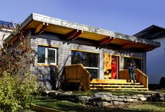 """By David Dodge and Duncan Kinney A net-zero home is more than just a place to hang your hat – it's a super-efficient, solar-powered look into the future. It was Le Corbusier, the Franco-Swiss modernist and founder of brutalism who coined the term """"buildings as machines for living."""" The net-zero home is far more deserving... Read more »"""