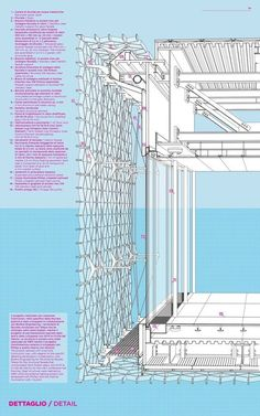 50 of the Best Facade Construction Details,Facade detail Sea Pavillion Architecture Design Concept, Detail Architecture, Facade Design, Amazing Architecture, Interior Architecture, Architecture Drawings, Singapore Architecture, Revit Architecture, Cultural Architecture