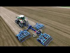 Seedbed Preparation | FENDT 936 vario on Tidue tracs & Farmet seedbed co...