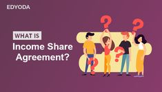 """The term Income Share Agreement has been around for a long time since 1955 to be precise. Surprised, eh? It was first introduced by Milton Friedman, an American economist, and statistician who strongly believed in """"free-market capitalism"""". In the last few months, there has been a lot of buzz around it, particularly among college graduates.  So, what is this Income Share Agreement? Contract Agreement, Free Market, College Graduation, Investing, How To Become, American, Graduation"""