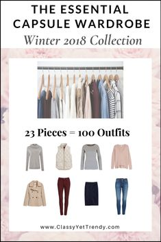 NEW! The Essential Capsule Closet: The Complete Capsule Wardrobe Guide $29.99