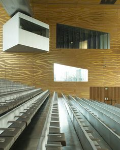 La Casa da Musica, à Porto, par Rem Koolhaas © Vincent Leroux