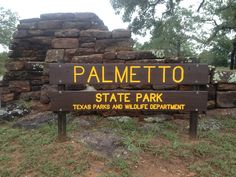 Palmetto state park in Texas