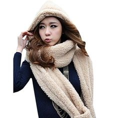 932a6a55d57d Hood   Hat + Scarf   10 Free Scoodie Patterns