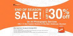 End of Season Sale! Upto 30%* off on Family photography only at MeriYaadein Studios, R City mall, Ghatkopar, Mumbai