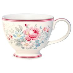 GreenGate Stoneware Teacup Marie Grey H 9 cm