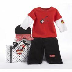 "Baby Aspen Big Dreamzzz ""Baby Rock Star"" Pajama Set - Kohl's ($29.99 reg)  0-6months"