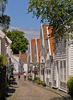 Stavanger, Norway, the home of my Grandfather, Hans Olaf Mosby.