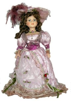 Victorian Porcelain Doll-Stunning Victorian doll-Porcelain Victorian Doll-Mackenzie