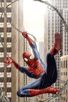 Spider-Rain by ~fernandogoni on deviantART