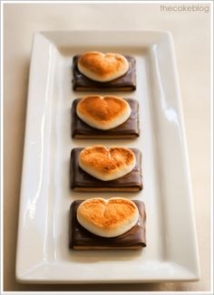 I Love You, S'More by thecakeblog #Smore #Heart