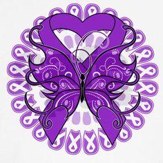 Butterfly Alzheimers Disease Women\'s Tank Top on CafePress.com