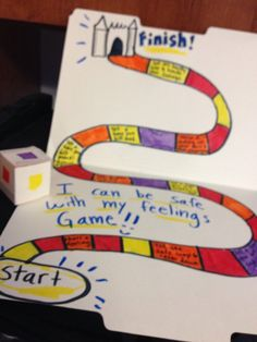 Social emotional board game take home activity  | Kristina Sargent
