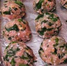 Myfridgefood - Baked Turkey Meatballs