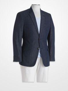 Blair Underwood Gray Linen Sport Coat | Summer Sport Coats